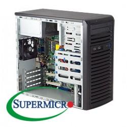 Case Micro Atx Supermicro MATX PSU300 P/N CSE-731i-300B Cod:CSS51