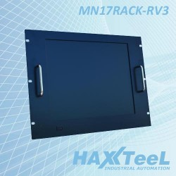 Monitor Rack/Pannello Monitor Rack 8U 17 Inch. 4/3 Touch Resistivo Cod:IPC.MNR02