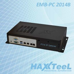 Computer Fanless Embedded Pc 2014B NF9HG-2930 4 LAN Cod:IPC.PCE07