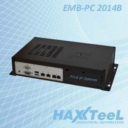 Computer Fanless Embedded Pc 2014B NF9HG-2930 4 LAN Cod:IPC.PCE07