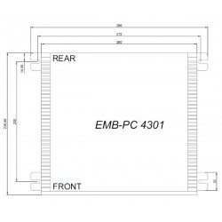 PANEL PC TOUCH 17 4/3 INTEL i3/i5 2LAN COD:IPC.PCP05