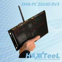Computer Fanless Embedded Pc 2014D RV3 Fanless NF9M-2930 Cod:IPC.PCE59