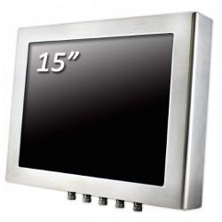 Panel Pc Resist. Inox Panel Pc Resistivo 15 Inch. 4/3 Fanless INOX J1900 Cod:IPC.PCP06