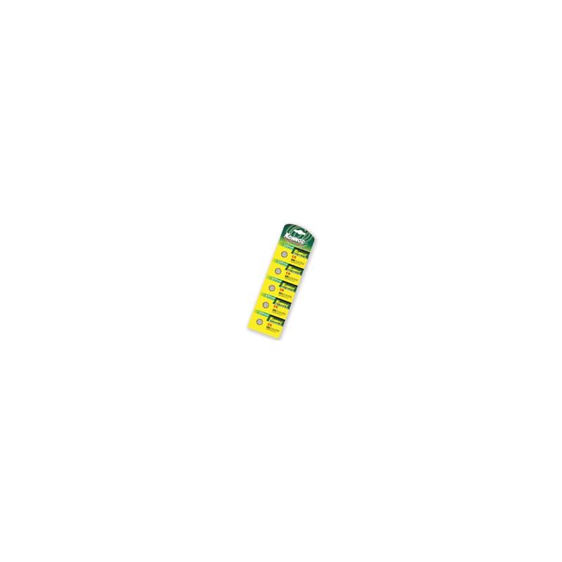 Batterie Blister con 5 Batterie al Litio CR2032 Cod:AVA03