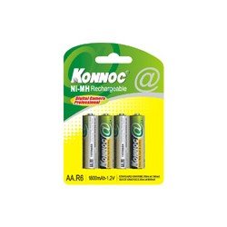 Batterie Blister con 4 Batterie Stilo AA LR06 Cod:AVA04