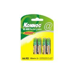Batterie Blister con 4 Batterie Mini Stilo AAA LR03 Cod:AVA05