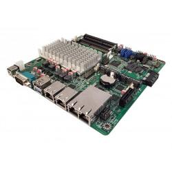 Mb Mini Itx Jet Board NF9HG-2930 4 LAN ITX Cod:MBJ11