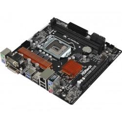 Mb Micro Atx Asrock H110M DVS R3.0 SK1151 Cod:MBK04