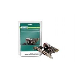 Schede I/O Scheda PCI-E 2 Porte RS232 DS30000 Cod:SHA11