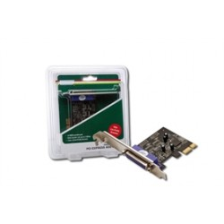 Schede I/O Scheda PCI-E 1X Parallela DS30020 Cod:SHA31