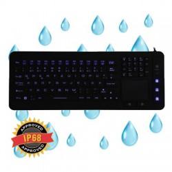 Tastiere Industriali Kb Touchpad Slim Usb (Us) Silicone IP68 P/N SK311 Cod:TMB02