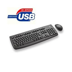 Tastiere E Mouse Cordless Desktop Logitech Usb P/N 920-004512 Cod:TMC02