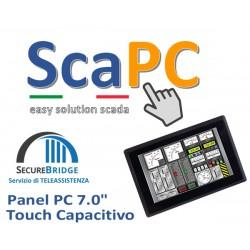 ScadaPC PPC 07.0 Fanless 4GB SSD120 Win10 IoT Runtime Cod:SP070C.000