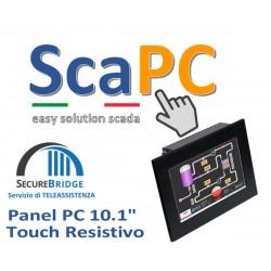 ScadaPC PPC 10.1 Fanless 4GB SSD120 Win10 IoT Runtime Cod:SP101R.000
