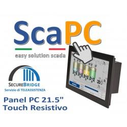 ScadaPC PPC 21.5 Fanless 4GB SSD120 Win10 IoT Runtime Cod:SP215R.000